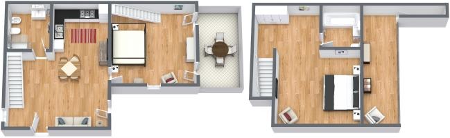 Planimetría Apartamento N.1