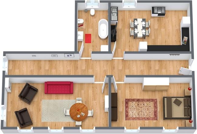 Planimetría Apartamento N.109