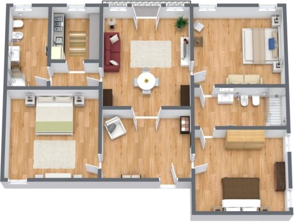 Planimetría Apartamento N.114