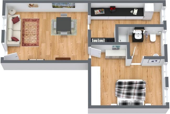Planimetría Apartamento N.116