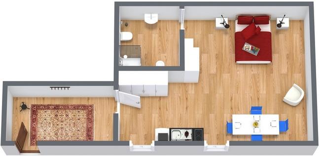 Planimetría Apartamento N.117