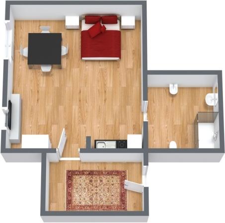 Planimetría Apartamento N.118