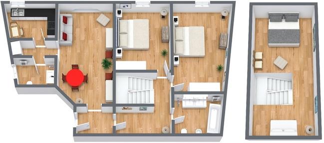 Planimetría Apartamento N.119
