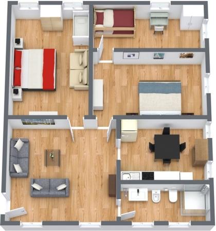 Planimetría Apartamento N.129