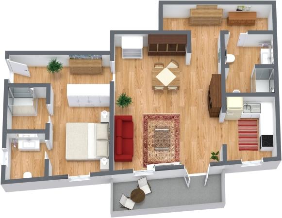 Planimetría Apartamento N.130
