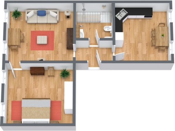 Planimetría Apartamento N.140
