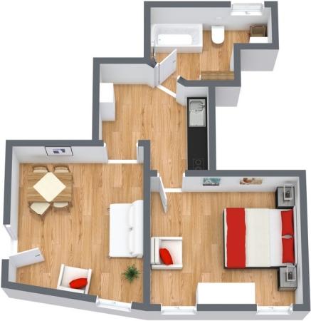 Planimetría Apartamento N.142