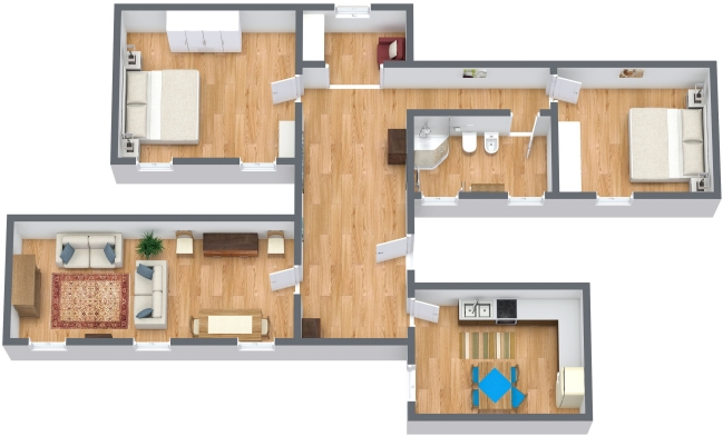 Planimetría Apartamento N.143