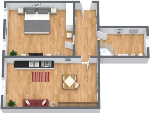 Planimetría Apartamento N.147