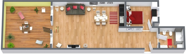 Planimetría Apartamento N.152