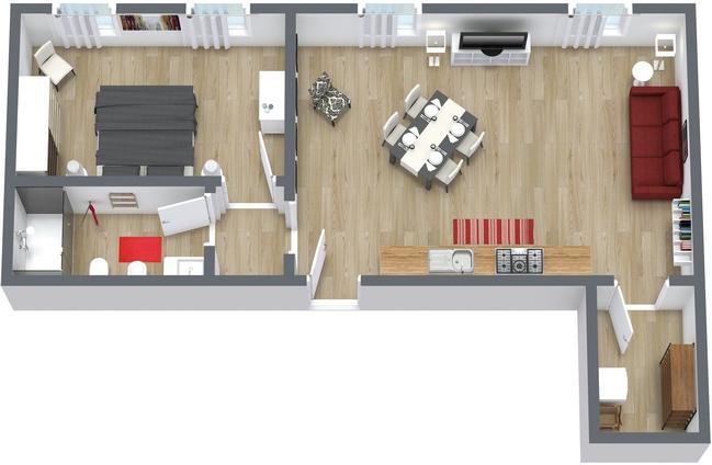 Planimetría Apartamento N.153