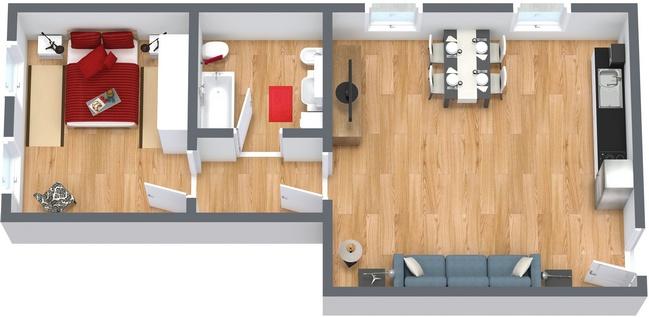Planimetría Apartamento N.162