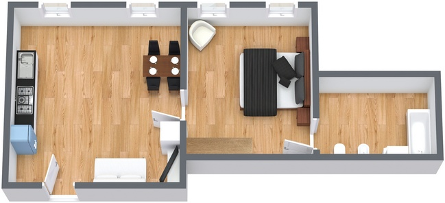 Planimetría Apartamento N.163
