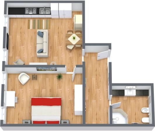 Planimetría Apartamento N.171