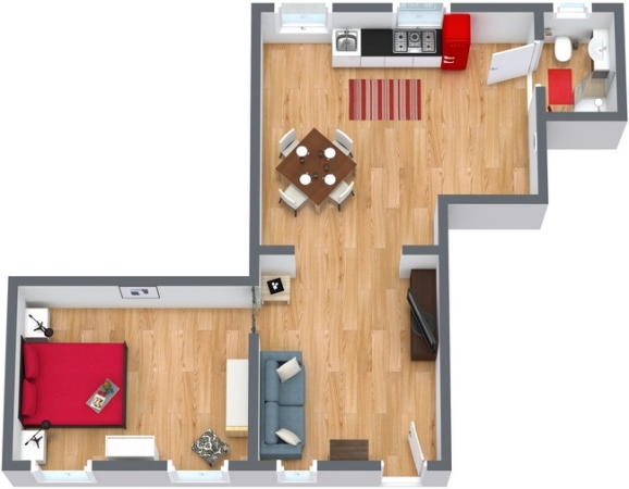 Planimetría Apartamento N.173