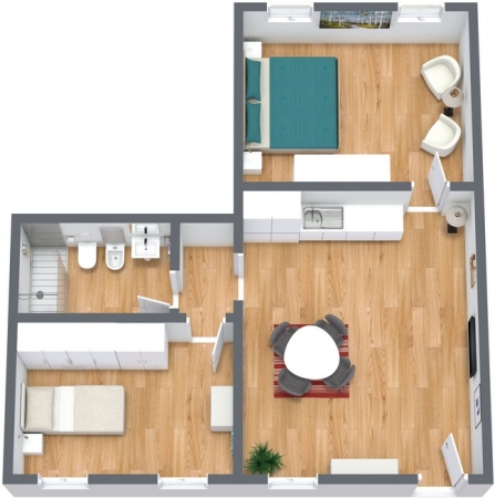 Planimetría Apartamento N.180
