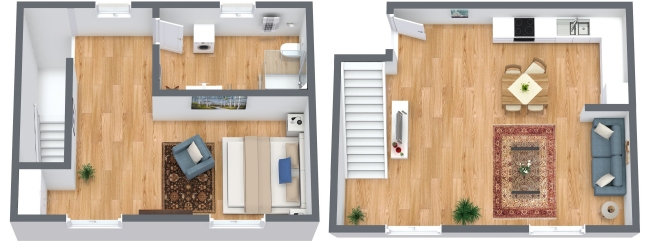 Planimetría Apartamento N.184