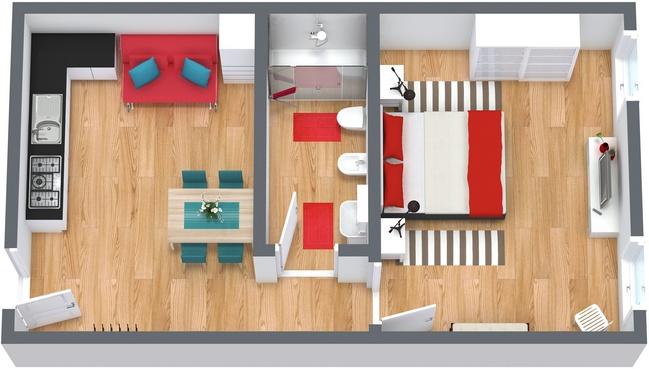 Planimetría Apartamento N.185
