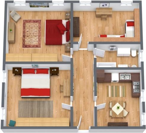 Planimetría Apartamento N.190