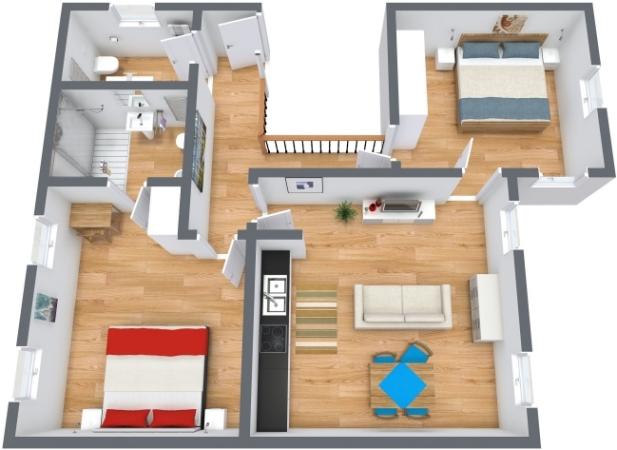 Planimetría Apartamento N.197