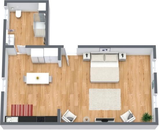 Planimetría Apartamento N.217