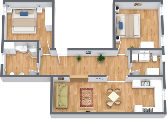 Planimetría Apartamento N.219