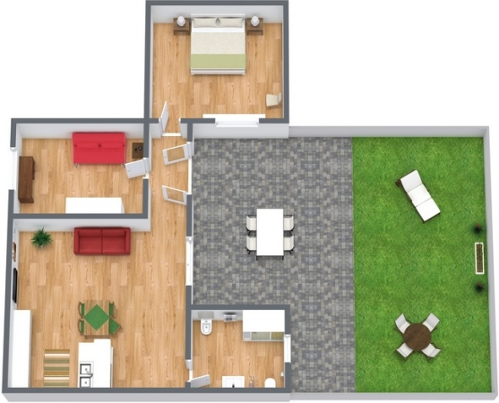 Planimetría Apartamento N.221