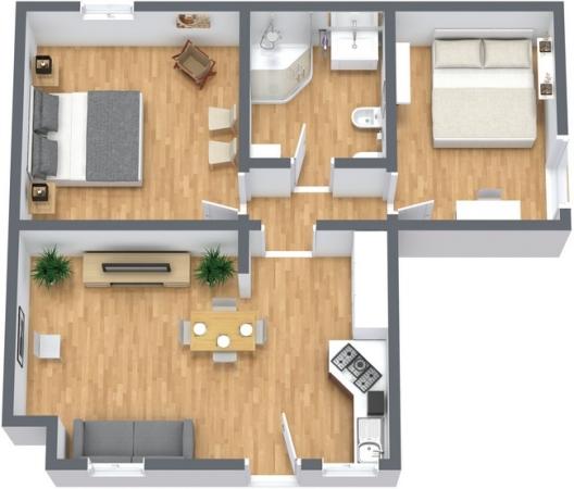 Planimetría Apartamento N.244