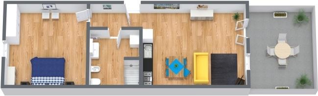 Planimetría Apartamento N.247
