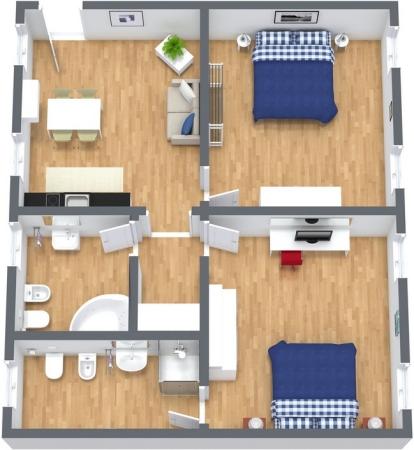 Planimetría Apartamento N.264