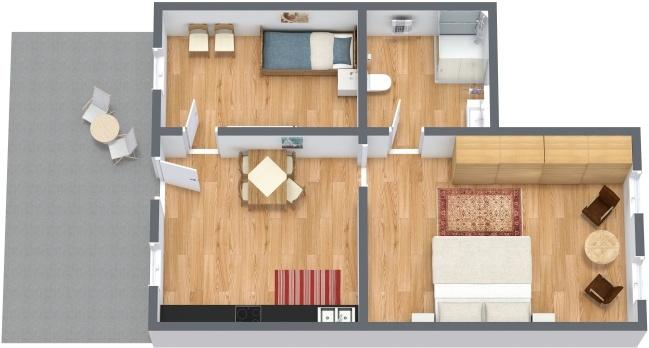 Planimetría Apartamento N.276