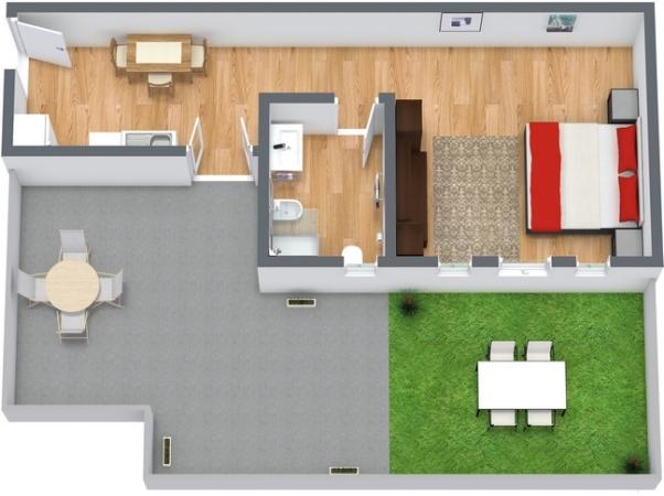 Planimetría Apartamento N.28