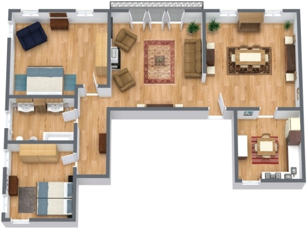Planimetría Apartamento N.289