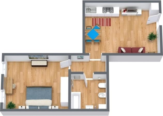 Planimetría Apartamento N.290