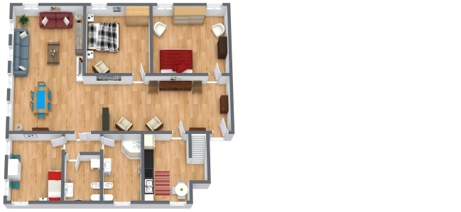 Planimetría Apartamento N.304