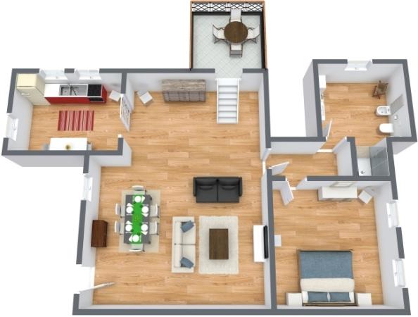 Planimetría Apartamento N.305