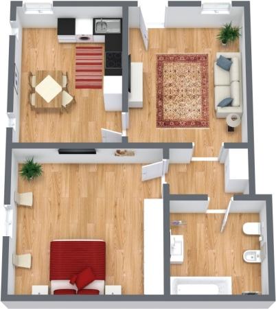 Planimetría Apartamento N.315