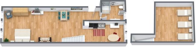 Planimetría Apartamento N.320