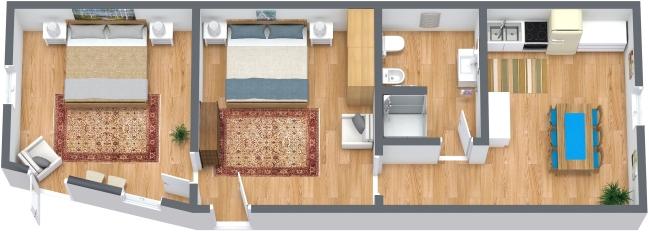 Planimetría Apartamento N.328