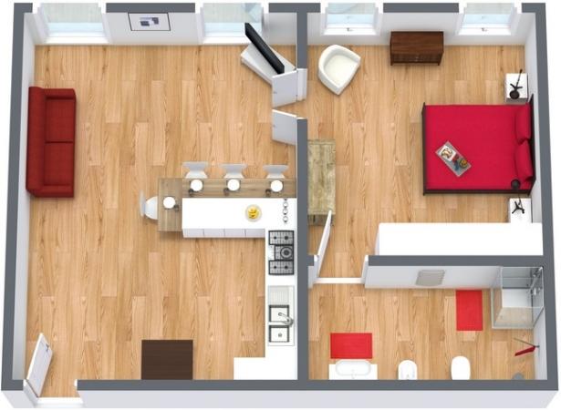 Planimetría Apartamento N.33