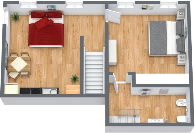 Planimetría Apartamento N.336