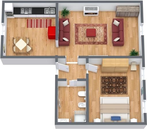 Planimetría Apartamento N.337