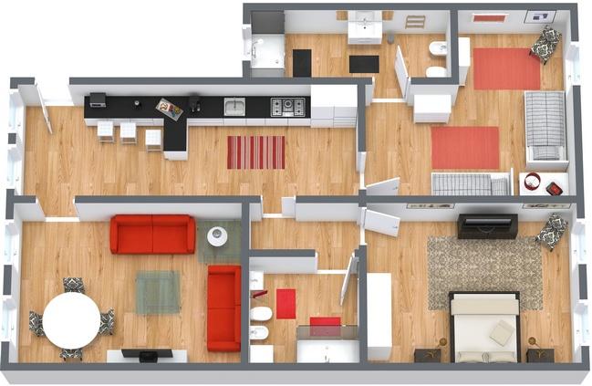 Planimetría Apartamento N.35
