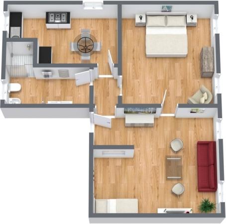 Planimetría Apartamento N.356