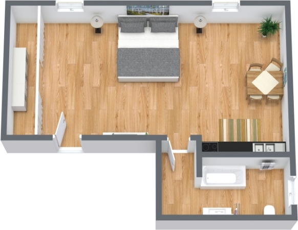 Planimetría Apartamento N.357