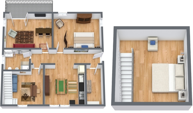 Planimetría Apartamento N.358