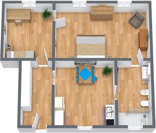 Planimetría Apartamento N.360