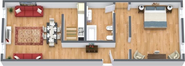 Planimetría Apartamento N.362