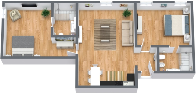 Planimetría Apartamento N.367