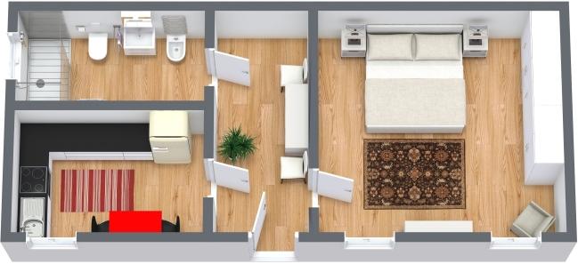 Planimetría Apartamento N.368